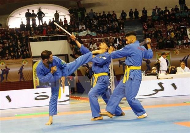 Establecen Federacion del arte marcial vietnamita Vovinam en el mundo arabe hinh anh 1