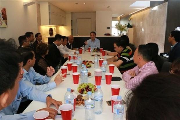 Vietnamitas residentes en Australia desean contribuir mas al desarrollo de su patria hinh anh 1