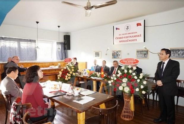 Asociacion de amistad checa reafirma apoyo a Vietnam en salvaguardia nacional hinh anh 1