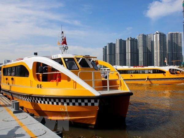Reportan alta eficiencia servicio de buses fluviales en Ciudad Ho Chi Minh hinh anh 1