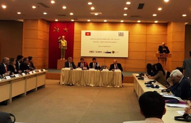 Empresarios de Vietnam y Grecia debaten oportunidades para cooperacion comercial hinh anh 1