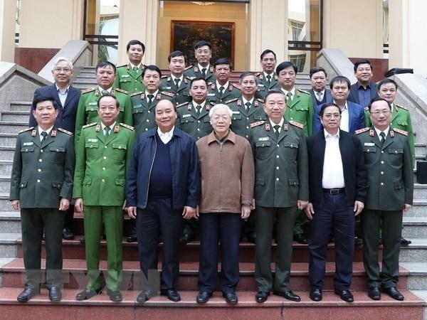 Destacan avances del Comite del Partido de Seguridad Publica de Vietnam hinh anh 1