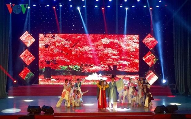 Celebran festival de performances artisticos para extranjeros en ciudad vietnamita hinh anh 1