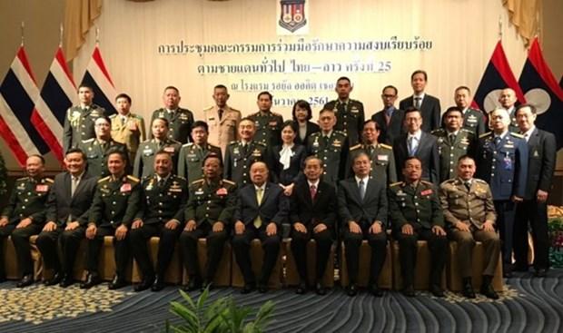 Tailandia y Laos acuerdan fortalecer cooperacion contra drogas hinh anh 1