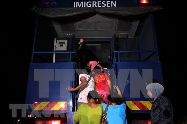 Malasia intensifica acciones contra inmigracion ilegal hinh anh 1