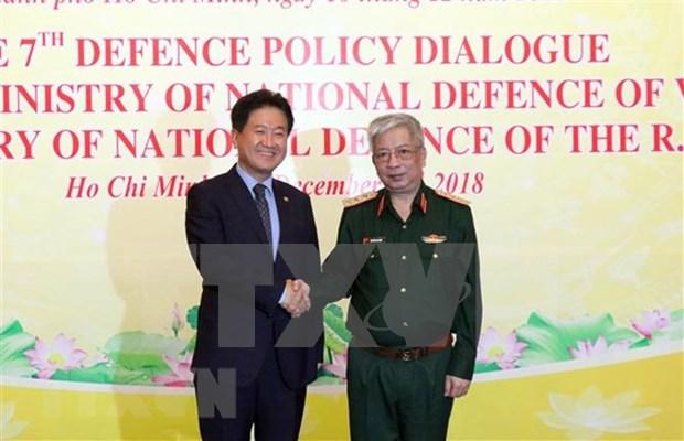 Vietnam y Corea del Sur fortalecen cooperacion en defensa hinh anh 1