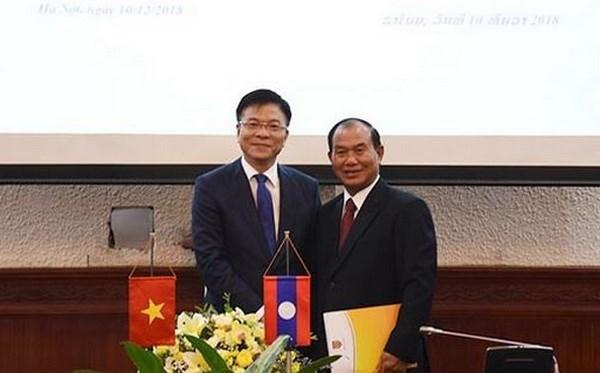Vietnam y Laos impulsan la cooperacion judicial hinh anh 1