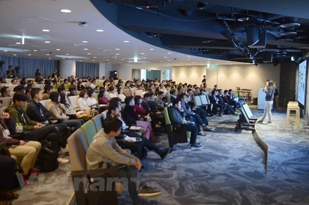 Jovenes vietnamitas en Japon intercambian experiencias en campos laboral y profesional hinh anh 1