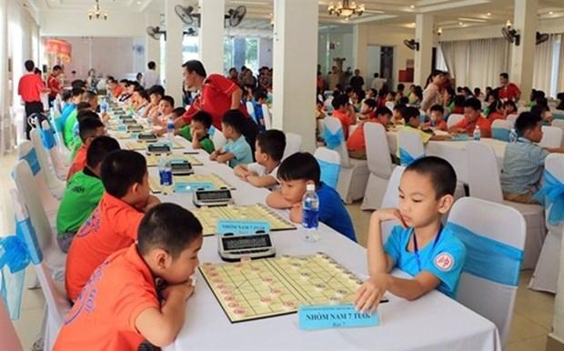 Celebraran torneo asiatico de ajedrez chino en Vietnam hinh anh 1