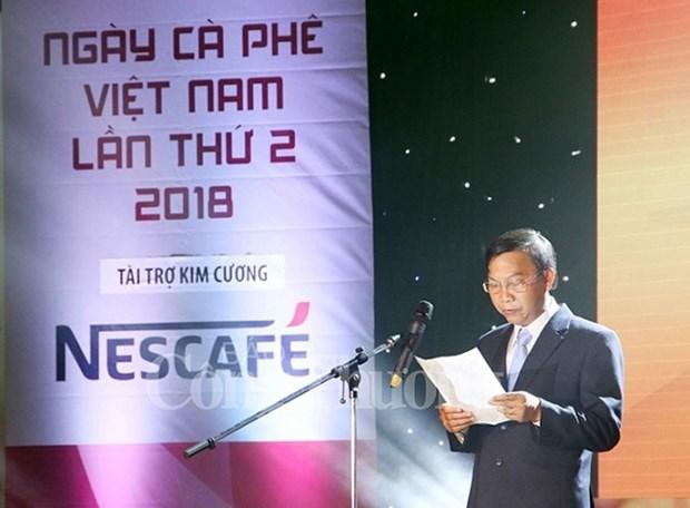 Celebran segunda edicion de Dia del Cafe nacional en provincia vietnamita hinh anh 1