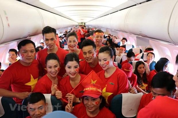 Embajada vietnamita en Malasia garantiza seguridad a fanaticos connacionales del futbol hinh anh 1