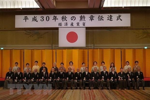 Honran a ciudadanos vietnamitas por contribuciones al desarrollo de Japon hinh anh 1