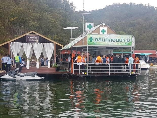 Tailandia debuta con su primera clinica flotante para hacer frente a accidentes hinh anh 1