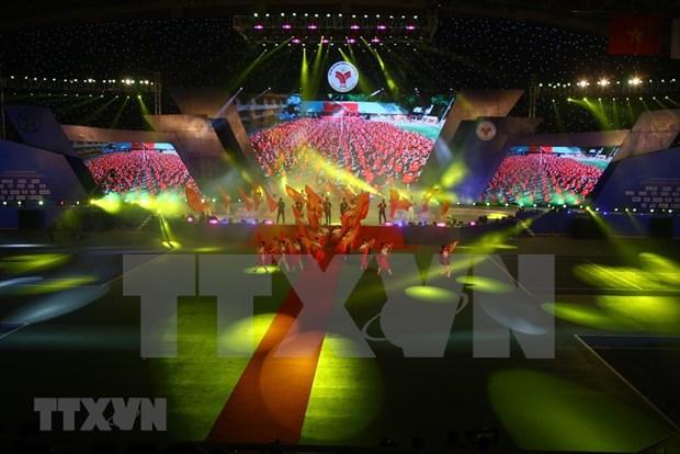 Concluyen VIII Juegos Nacionales de Vietnam hinh anh 1