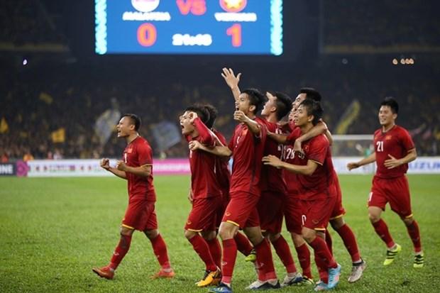 Vietnam empata con Malasia en partido de ida en final de copa sudesteasiatica hinh anh 1