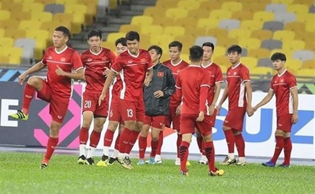 Equipo nacional de futbol de Vietnam regresara a la Patria en avion Airbus A350-900 hinh anh 1