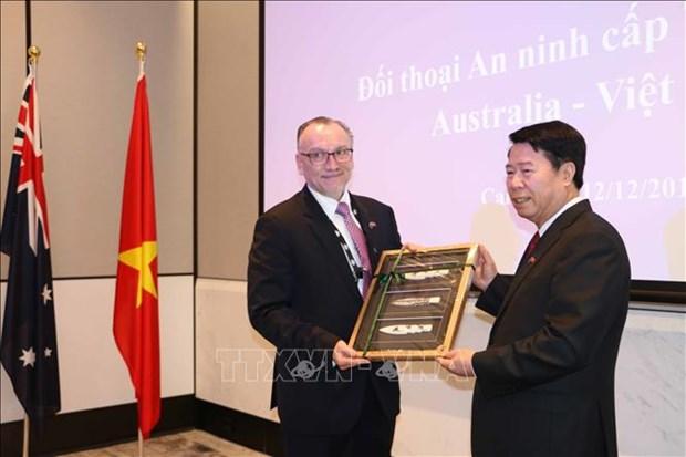 Australia y Vietnam efectuan primer dialogo de seguridad a nivel de viceministros hinh anh 1