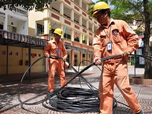 Grupo de electricidad de Vietnam alcanza crecimiento de 12 por ciento de produccion hinh anh 1
