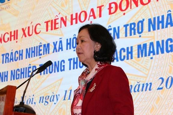 Vietnam exhorta a la participacion empresarial en actividades humanitarias hinh anh 1
