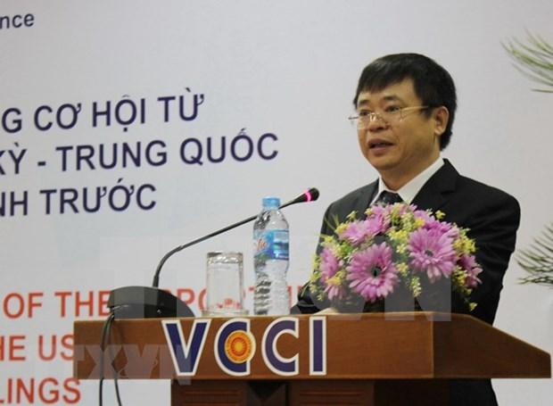 Debaten soluciones para ayudar a empresas vietnamitas ante guerra comercial EE.UU.- China hinh anh 1