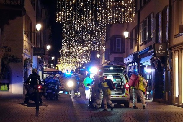 No hay victima vietnamita en tiroteo en Estrasburgo hinh anh 1