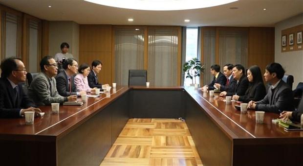 Vietnam y Corea del Sur intercambian experiencias en desarrollo de telecomunicaciones hinh anh 1