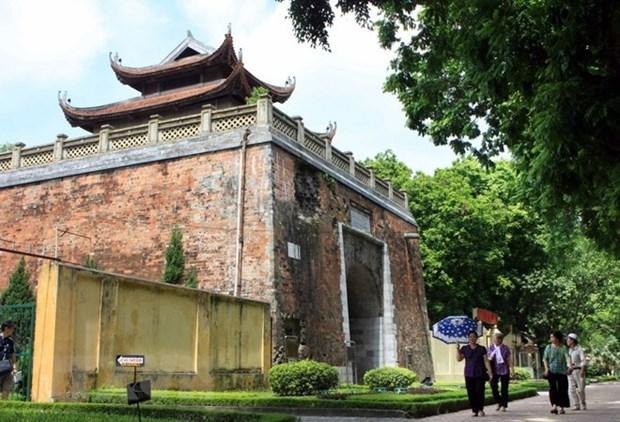 Ciudadela imperial Thang Long: Tesoro para arqueologos hinh anh 1