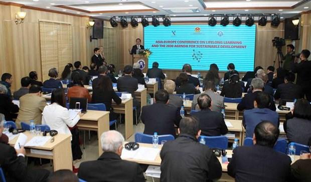 Paises de ASEM intercambian en Vietnam experiencias sobre estudio por toda la vida hinh anh 1