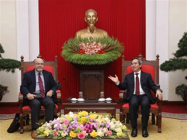 Exhortan a FMI a incrementar apoyo a Vietnam en formacion de recursos humanos hinh anh 1