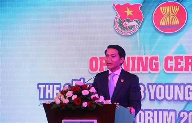 Inauguran en Ciudad Ho Chi Minh foro de empresarios jovenes de ASEAN y socios hinh anh 1