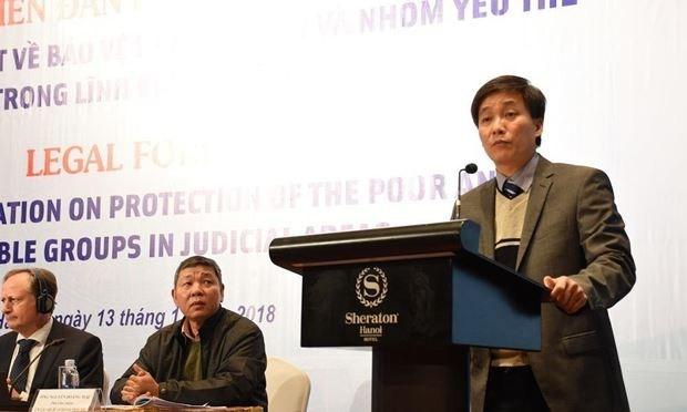 Intercambian en Vietnam experiencias en proteccion de personas vulnerables en asuntos juridicos hinh anh 1