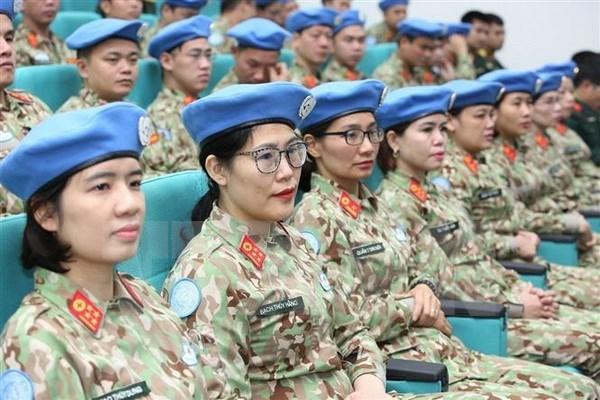 Inauguran curso de capacitacion previa al despliegue del segundo hospital de campana de Vietnam hinh anh 1