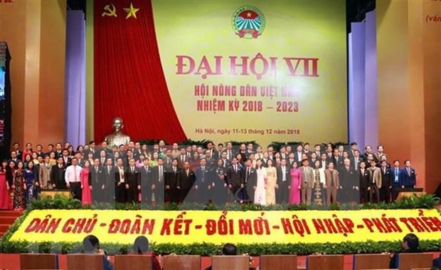 Clausuran VII Congreso de Asociacion de Agricultores de Vietnam hinh anh 1