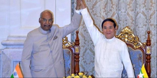 La India y Myanmar impulsan nexos bilaterales hinh anh 1