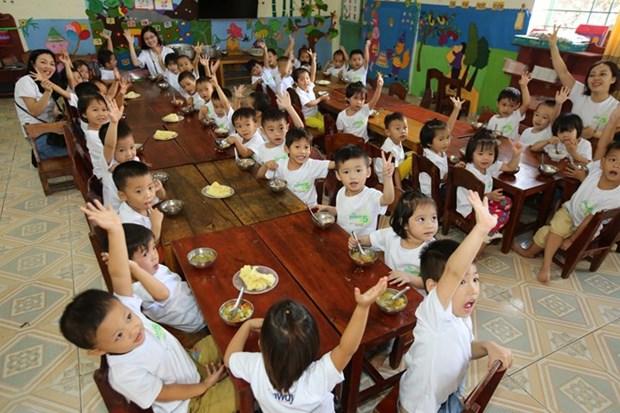 Vietnam despliega proyecto para que mas ninos accedan al jardin de infancia hinh anh 1