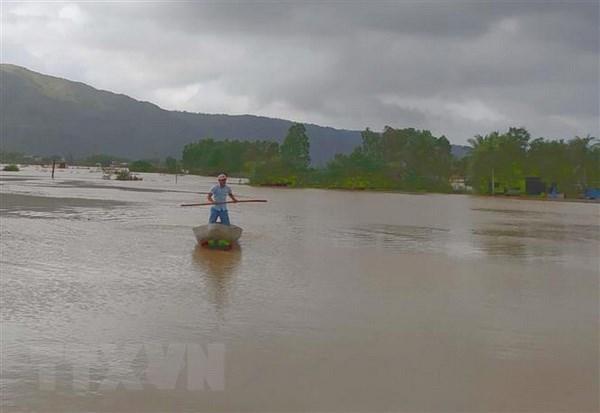 Al menos seis muertos por inundaciones en provincia central vietnamita de Binh Dinh hinh anh 1