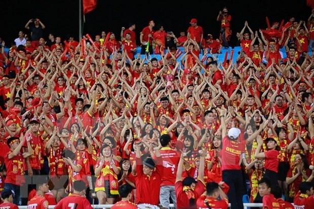 Fanaticos de futbol vietnamitas confian en victoria final del equipo nacional en Copa AFF Suzuki hinh anh 1