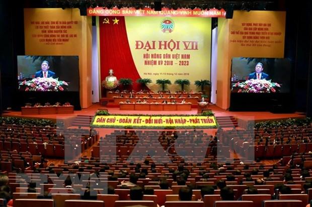 Congreso de la Asociacion de Agricultores de Vietnam responde a aspiraciones de sus miembros hinh anh 1