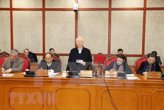 Maximo dirigente politico de Vietnam pide a Da Nang ser locomotora para desarrollo del Centro hinh anh 1