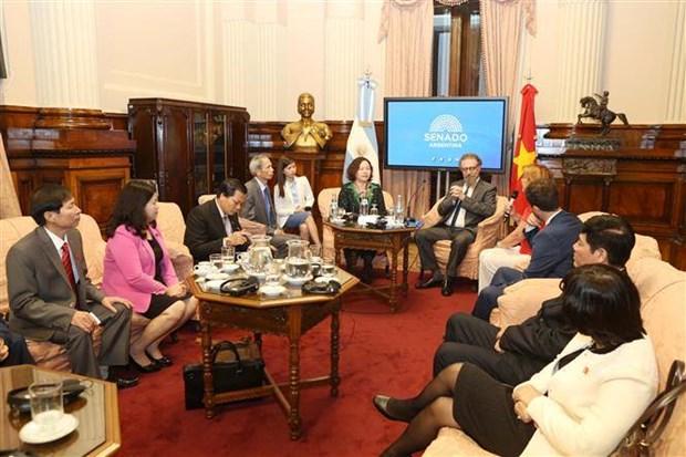 Vietnam y Argentina intensifican nexos parlamentarios hinh anh 1