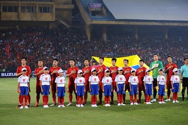 Prensa sudcoreana confia en victoria del equipo vietnamita en la final de AFF Suzuki Cup hinh anh 1