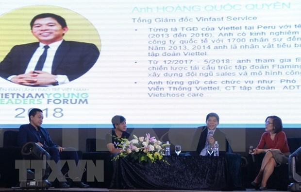 Empresarios jovenes de ASEAN y paises socios debaten sobre start-up en agricultura hinh anh 1