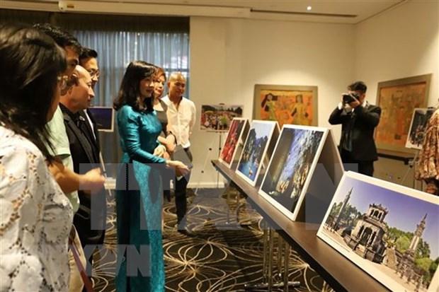 Pinturas lacadas de Vietnam llegan a Australia hinh anh 1