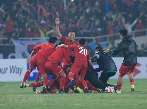 Selecciona nacional de futbol de Vietnam impresionan a medios internacionales hinh anh 1