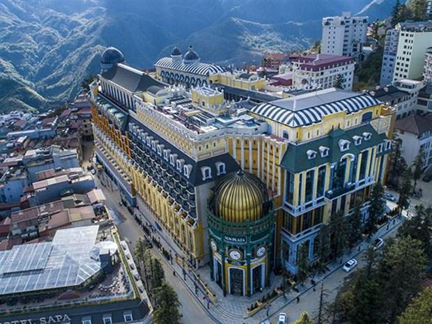 Inauguran primer hotel de cinco estrellas en distrito vietnamita de Sapa hinh anh 1