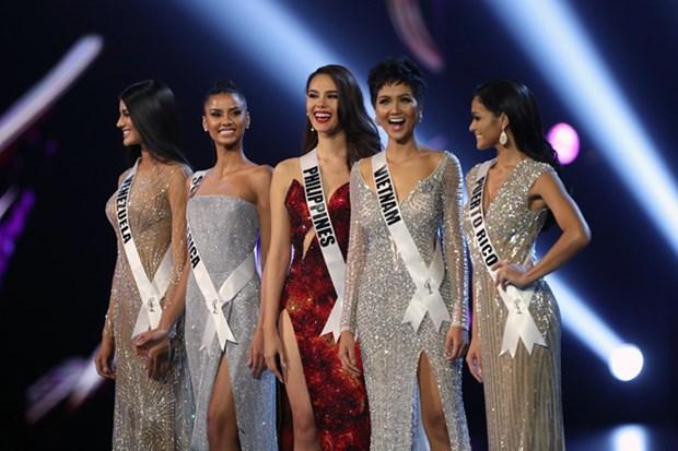 Vietnam entre las cinco finalistas de Miss Universo 2018 hinh anh 3