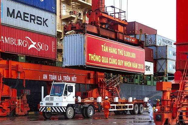 Puerto de provincia vietnamita alcanza tasa record de carga de mercancias hinh anh 1