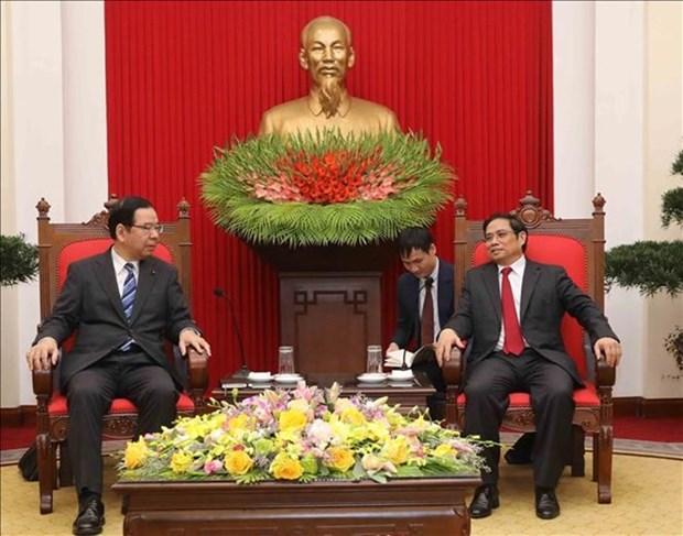 Partidos Comunistas de Vietnam y Japon fortalecen cooperacion hinh anh 1