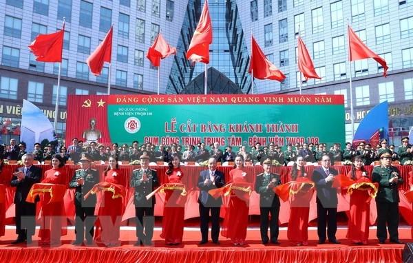 Inauguran complejo de tratamiento medico mas moderno de Vietnam hinh anh 1