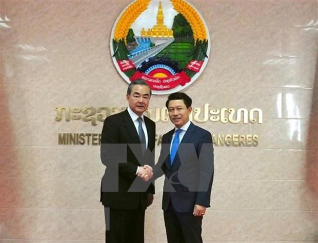 China y Laos fortalecen cooperacion bilateral hinh anh 1